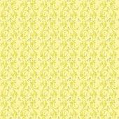 Lichte gele kleuren art nouveau stijl patroon ontwerp. oorspronkelijke p — Stockvector