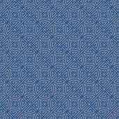 Blue Colors Geometry Pattern. Korean traditional Pattern Design  — Stockvektor