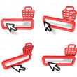 3D Shopping search box and arrow icon. 3D Icon Design Series. — Stock Photo #48768765