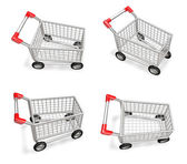 3D shopping cart icon. 3D Icon Design Series.  — Stock Photo
