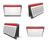 3D Ring Calendar Icon. 3D Icon Design Series.  — Stock Photo