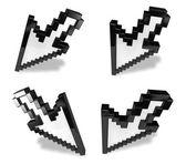 3D mouse cursor icon. 3D Icon Design Series.  — Stock Photo