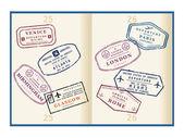 Passport — Stock Vector