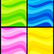 Background waves - Stock Vector