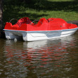 Stock Photo: Paddle boat
