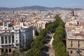 Barcelona - Rambla — Stock Photo