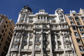 Gran Via, Madrid — Stockfoto