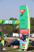 MOL gas station — Stock Photo
