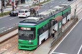 Tram di hiroshima — Foto Stock