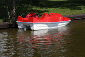 Paddle boat — Stock Photo