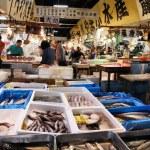 Seafood market, Tokyo — Stock Photo