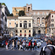 Rome - Piazza Venezia — Stock Photo
