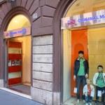 Fashion shopping in Rome — Stock Photo