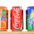 Coca Cola, Fanta, Sprite — Stock Photo #29936153