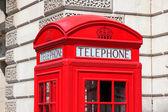 Telefone de londres — Foto Stock