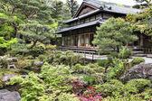 奈良で日本庭園 — ストック写真