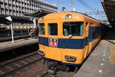 Nara station train — Stock Photo