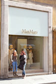 MaxMara fashion store — Stock Photo