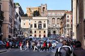 Rome - Piazza Venezia — Stock Photo
