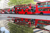 London Buses — Stock Photo