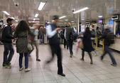 Londra yeraltı — Stok fotoğraf