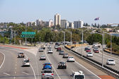 Traffic in Perth — Stock Photo