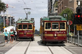 Melbourne tram — Stock Photo