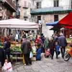 Palermo market — Stock Photo