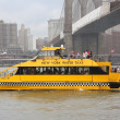 Постер, плакат: New York Water Taxi
