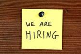Recruitment — Stock Photo
