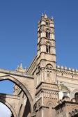 Katedra w palermo — Zdjęcie stockowe