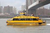 Táxi aquático de nova york — Foto Stock