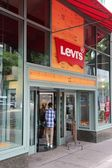 Levi's shop — Stock Photo