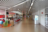 Airport interior in Sweden — Stock Photo