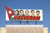 Cuba propaganda — Stock Photo