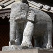 Elephant sculpture — Stock Photo