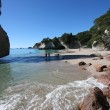 Cathedral Cove, New Zealand — Stock Photo