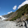 Stock Photo: Glacier in New Zealand
