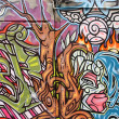 Graffiti art in Australia — Foto Stock