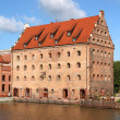 Stock Photo: Gdansk granary