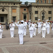 Stockholm - Military Orchestra — Stock Photo