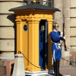 Royal Guard, Stockholm — Stock Photo