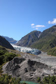 New Zealand glacier — Stock Photo