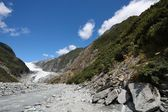 Glacier in New Zealand — Stock Photo