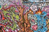 Graffiti sanatı avustralya — Stok fotoğraf