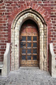 Malbork castle door — Foto de Stock