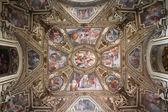 Trastevere basilica — Stock Photo