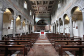 Rome - church interior — Stock Photo