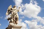 άγγελος γλυπτική στη ρώμη — Φωτογραφία Αρχείου