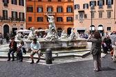 Rome - Piazza Navona — Stock Photo